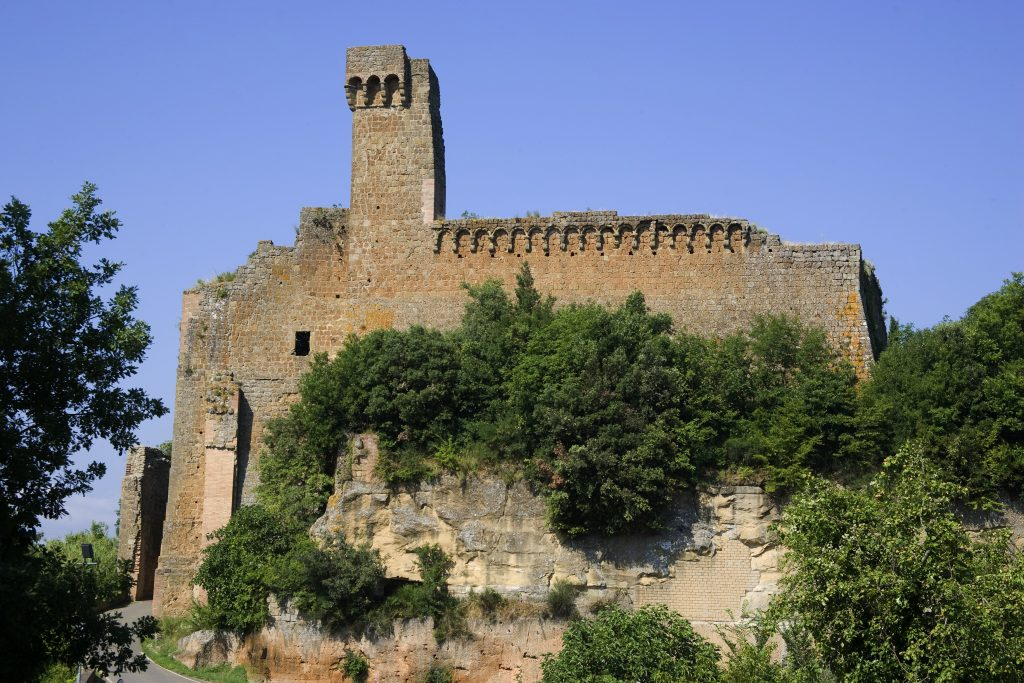 Sovana ancient Etruscan city in Tuscan Maremma